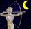 Mondkalender / Mondrhythmus: Mond abnehmend im Sternzeichen Schütze
