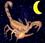 Mondkalender / Mondryhthmus: Mond abnehmend im Sternzeichen Skorpion
