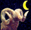Mondkalender / Mondrhythmus: Mond abnehmend im Sternzeichen Widder