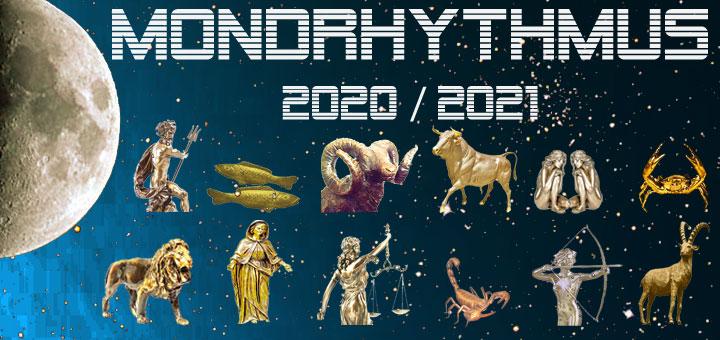 Der Mondkalender 2020 - 2021