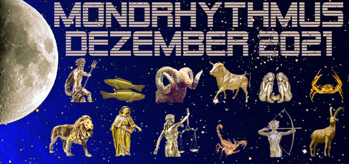 Mondkalender Dezember 2021