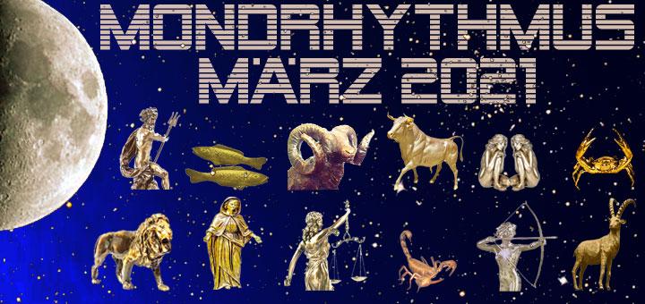 Mondkalender März 2021