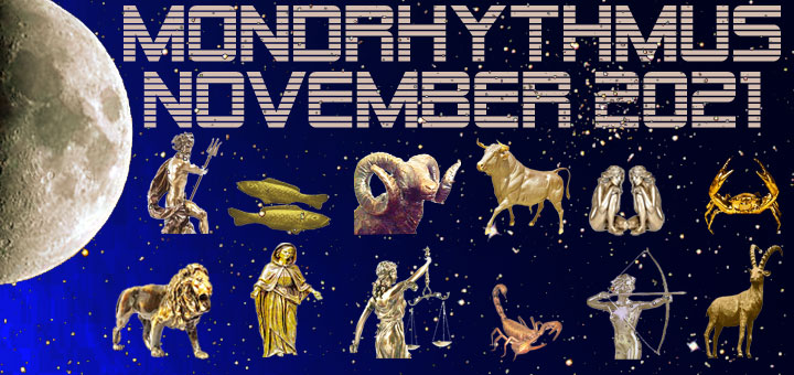 Mondkalender November 2021